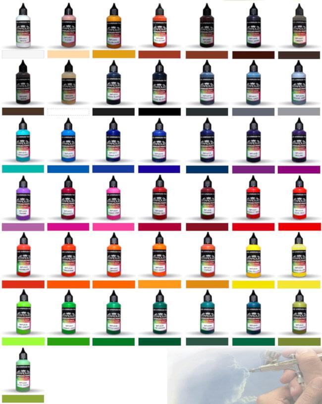 Colorshart ARTISTIC WPU